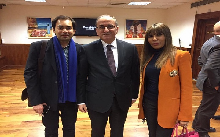 Turkish ambassador to the U.K (2017)